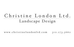 Christine London, Ltd.  Landscape Architects & Designers  Los Angeles